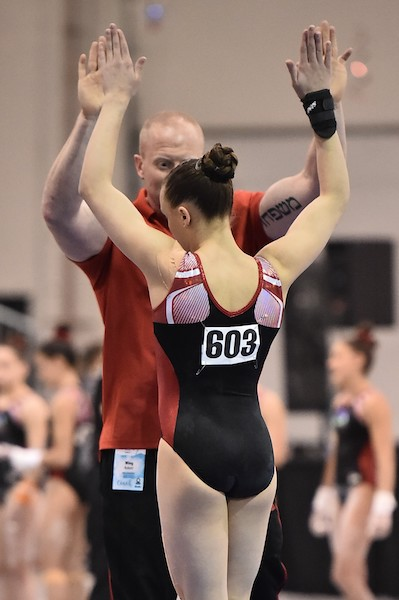 picture of gymnast, Dakota Lee