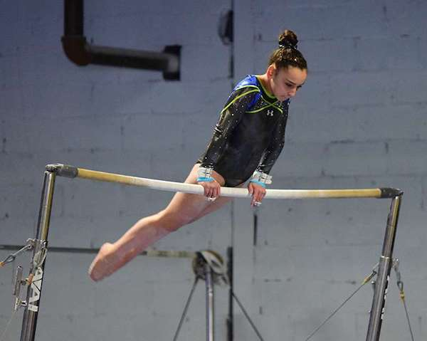 picture of gymnast Olivia Mile